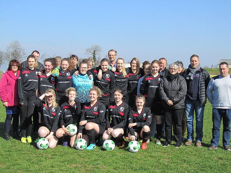 Equipe de foot feminime U16
