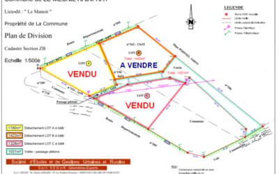 Parcelle communale à vendre à Le Mesnil Rainfray